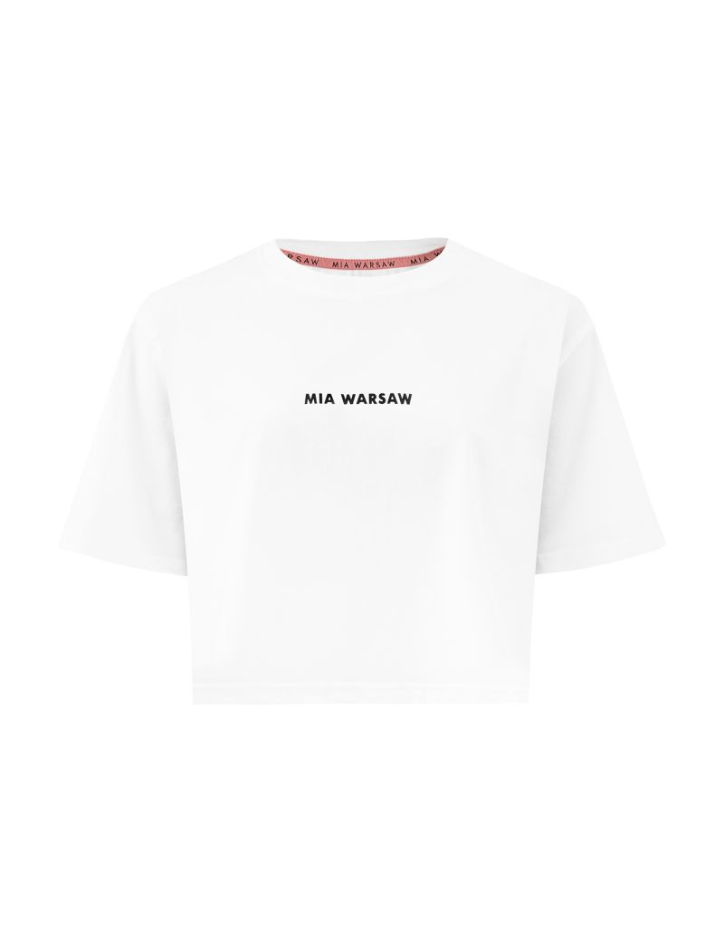 T-shirt TRIBECA biały